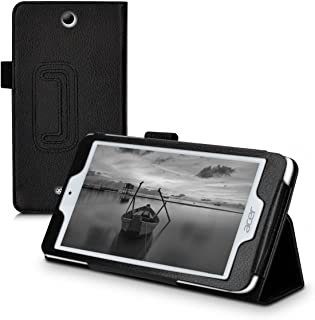 kwmobile Case for Acer Iconia One 7 (B1-780) - Slim PU Leather Protective Tablet Cover with Stand Feature - Black
