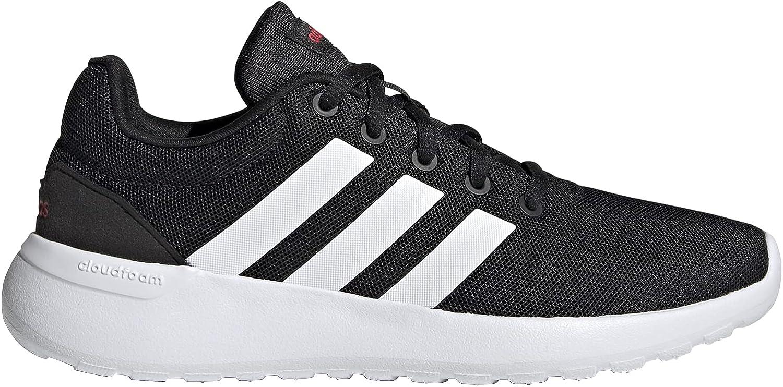 adidas Lite Racer CLN 2.0 K, Zapatillas de Running Unisex Adulto, NEGBÁS/FTWBLA/Escarl, 39 1/3 EU