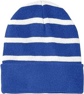 Fleece Lined Stripe Beanies in 16 Colors