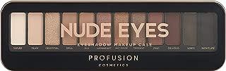 Profusion Cosmetics Pro Makeup Case Nude Eyes Eyeshadow Palette