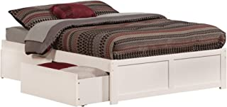 Best full size storage bed white Reviews