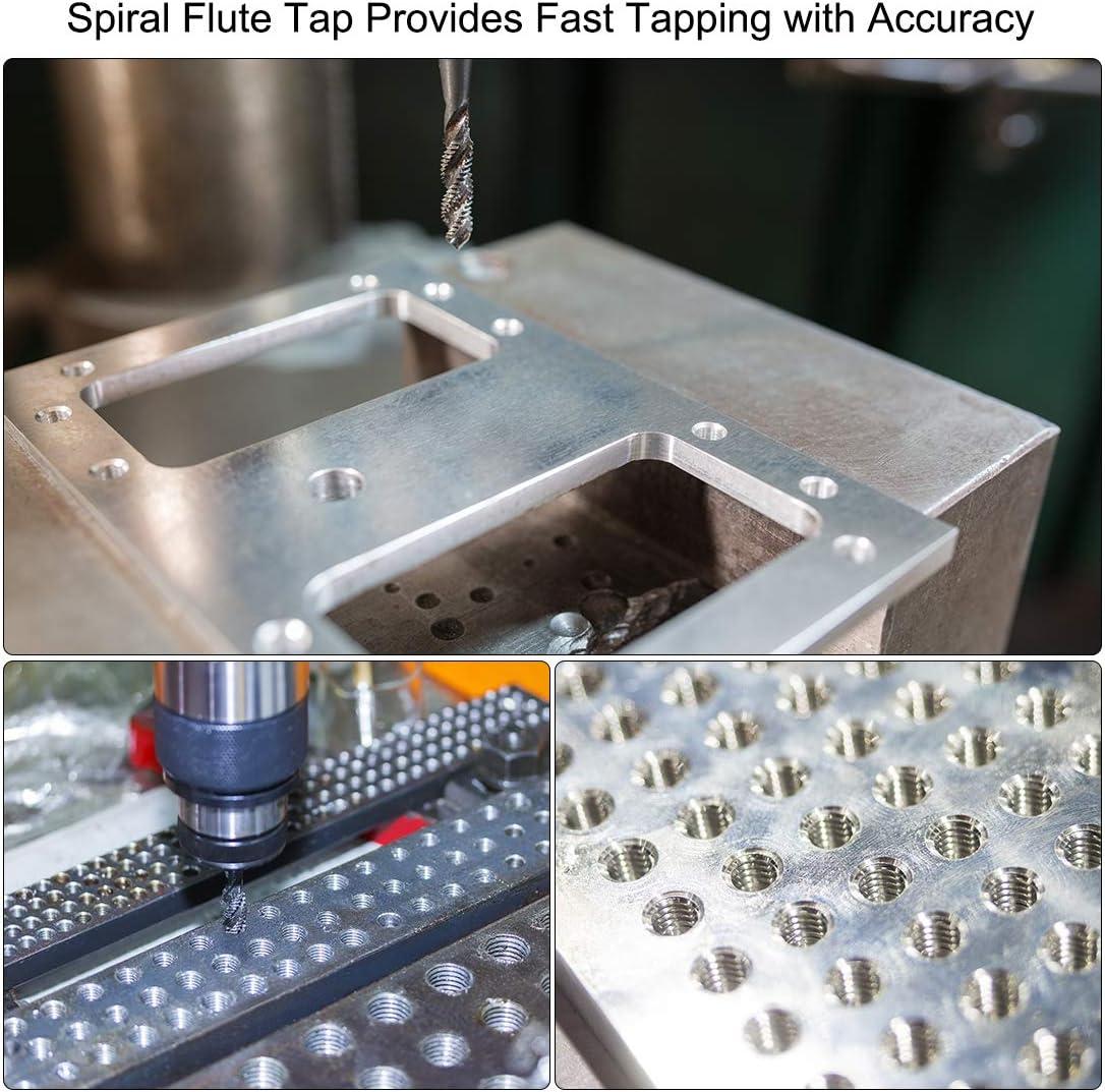 Metric Spiral Point Machine Screw Tap M2.5 Thread H2 Nitriding High Speed Steel