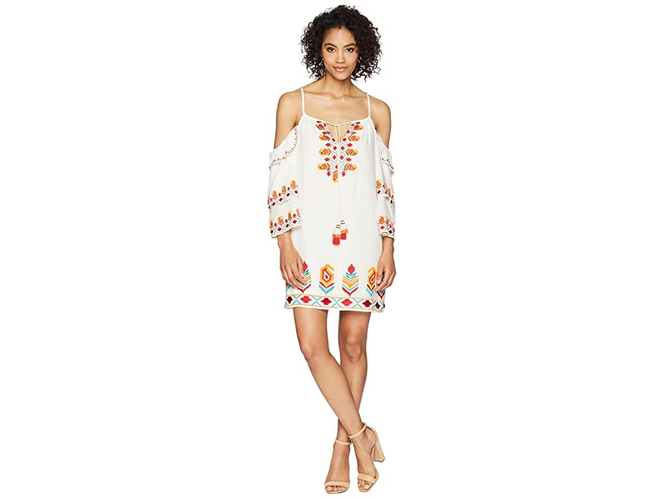 Tolani Sidney Tunic Dress (Ikat) Women
