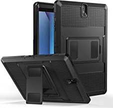 MoKo Galaxy Tab S3 9.7 Case - [Heavy Duty] Shockproof Defender Full Body Rugged Hybrid Cover with Built-in Screen Protector for Samsung Galaxy Tab S3 9.7