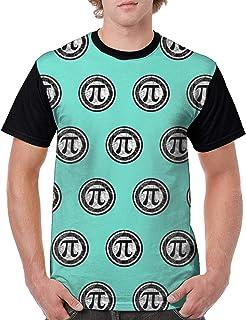 メンズ 半袖pirate Pi Dayパイの日314 ジャマイカ (2) Tシャツ 創意デザイン 原宿系 おしゃれ 男女兼用トップス 3d個性的tシャツ メンズ 夏服 おもしろtシャツトップス (吸汗速乾)