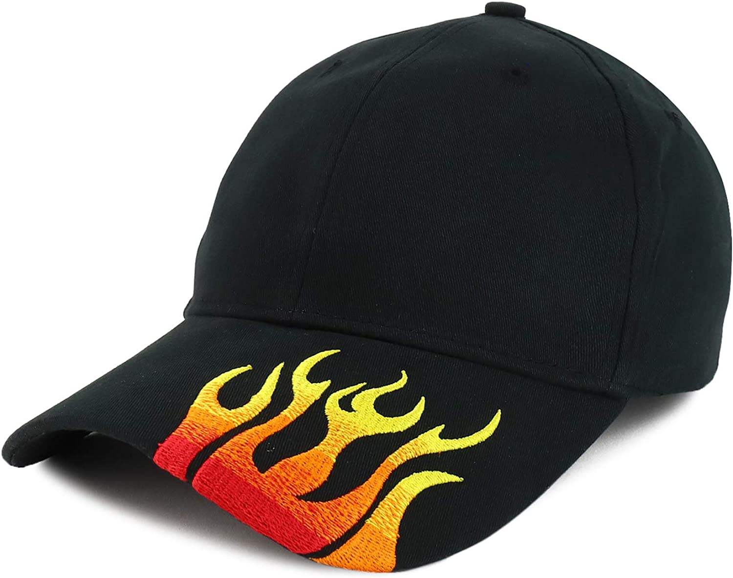 Armycrew Fire Flame Embroidered Bill B Brushed Structured Cotton Super special Max 59% OFF price