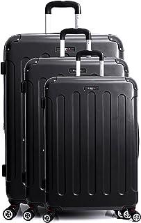 Blue Star Luggage Set, Black (Noir), 72 cm