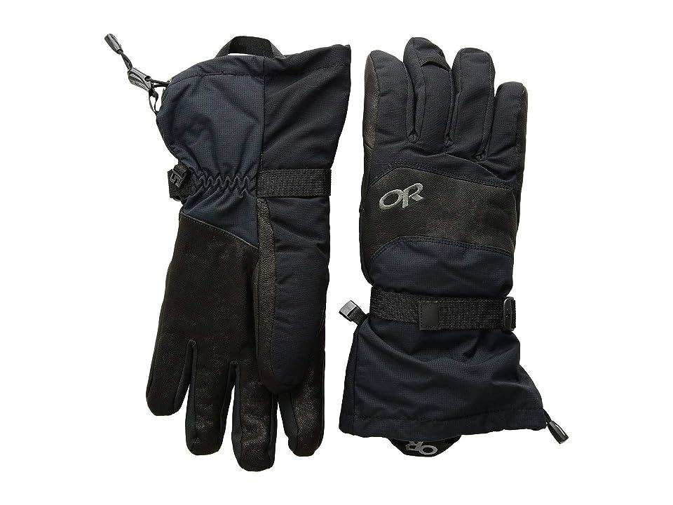 Outdoor Research Highcamp Gloves (Black) Ski Gloves