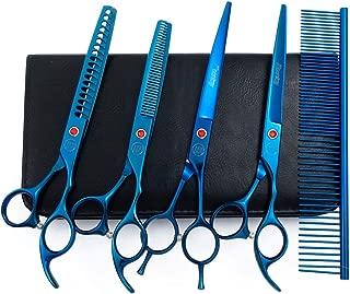 Moontay Professional Dog Grooming Scissors Set, 7 Inch/8 Inch Pet Grooming Scissors..