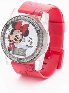 Disney Minnie - Kids Digital watch with Rotating Light - Outdoor Electronic Wristwatch (6-15 years Boys)