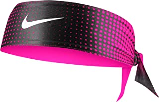 Nike Women's Breast Cancer Awareness Dri-FIT Head Tie - Black/Vivid Pink/White
