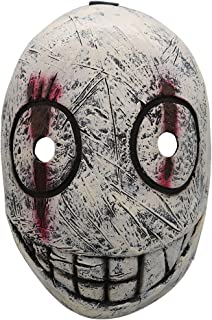 The Trapper Mask Legion Frank Mask Helmet Costume Props for Adult Halloween Cosplay Gray