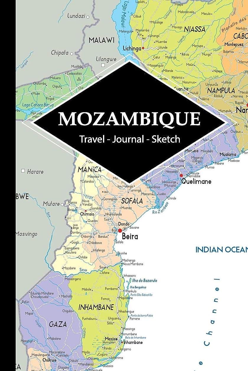 ブレースしたいに沿ってMozambique Travel Journal: Write and Sketch Your Mozambique Travels, Adventures and Memories