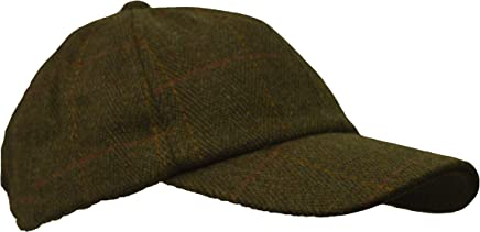 9e1cf86a6d2 Walker and Hawkes Mens Ladies Derby Tweed Baseball Cap Hunting Shooting Hat  One-Size