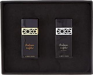 Jesus Del Pozo Arabian Night Perfume For Men Assorted Fragrances, 2 x 100 ml