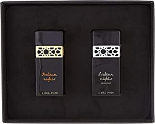 Arabian Night by J.Del Pozo - perfume for men - Assorted Fragrances, 2 Count