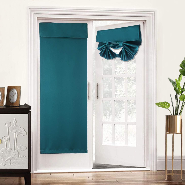 FANSHENGTEX Soft Free shipping / New Blackout Silk online shop Look for Satin Door Curtains