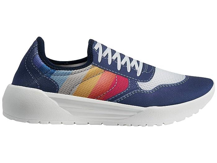 Psudo Court (Blue/Multi) Women's Shoes