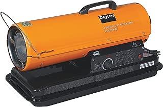 Dayton 3VE49 Oil Fired Heater, 75 K BtuH 120 V