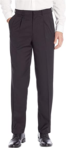 Pleated Stretch Dress Pant w/ Stretch Waistband