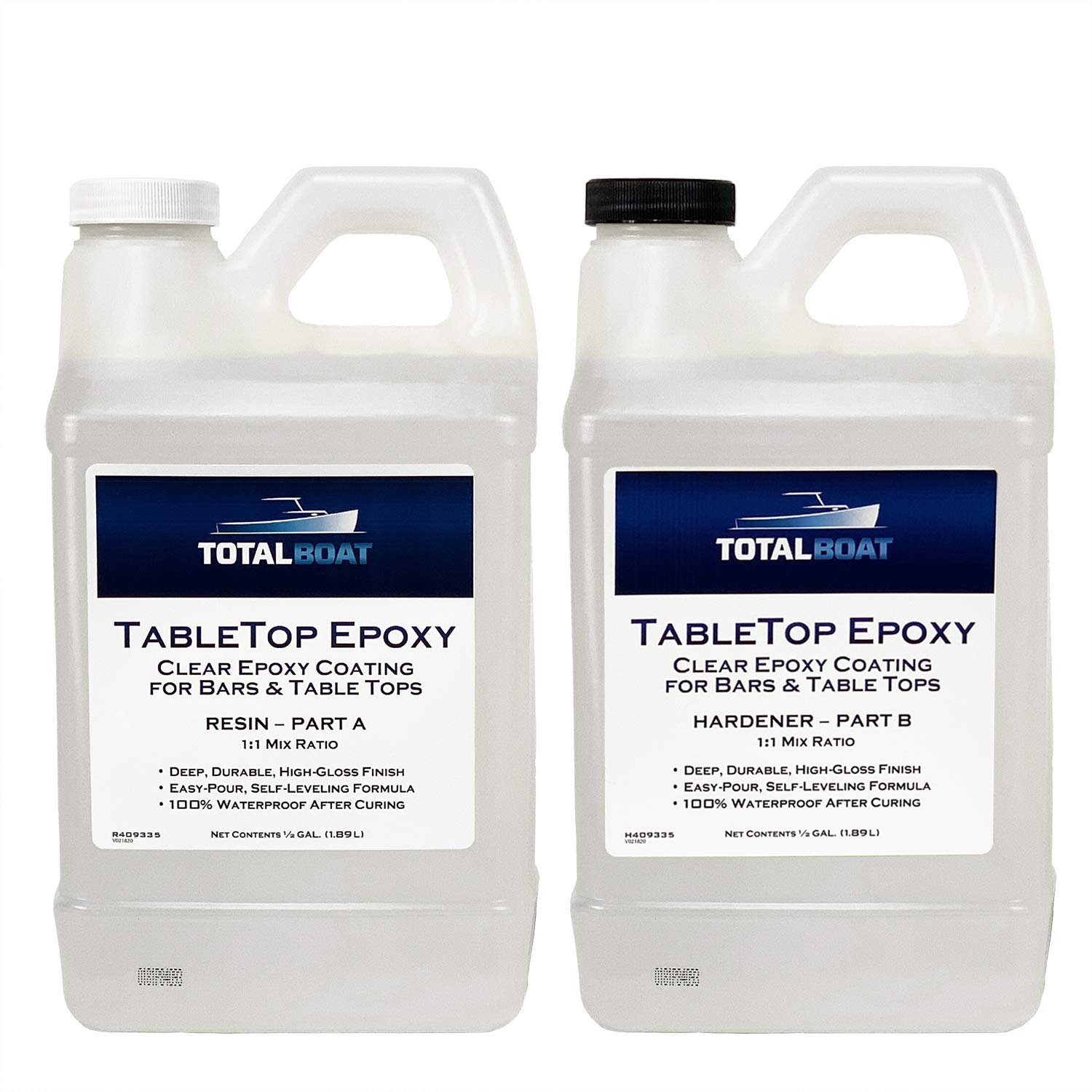 TotalBoat - Epoxy Resin Crystal Clear Gallon Regular dealer Max 45% OFF H 1