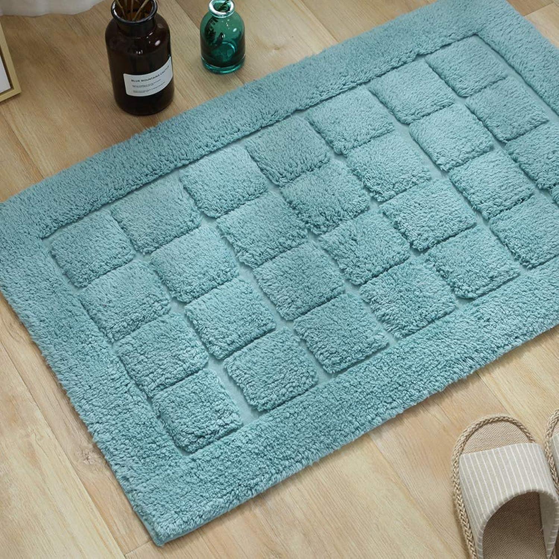 Door mat,Entrance Door mats Bathroom Floor mat Non-Slip Carpet Door mat Indoor Doormat-Royal bluee 50x80cm(20x31inch)