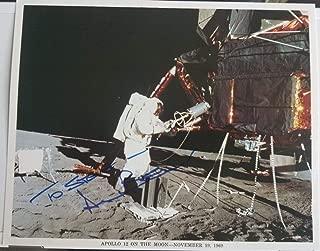 Apollo 12 NASA Astronaut Alan Bean Hand Signed 10x8 Photo Todd Mueller COA