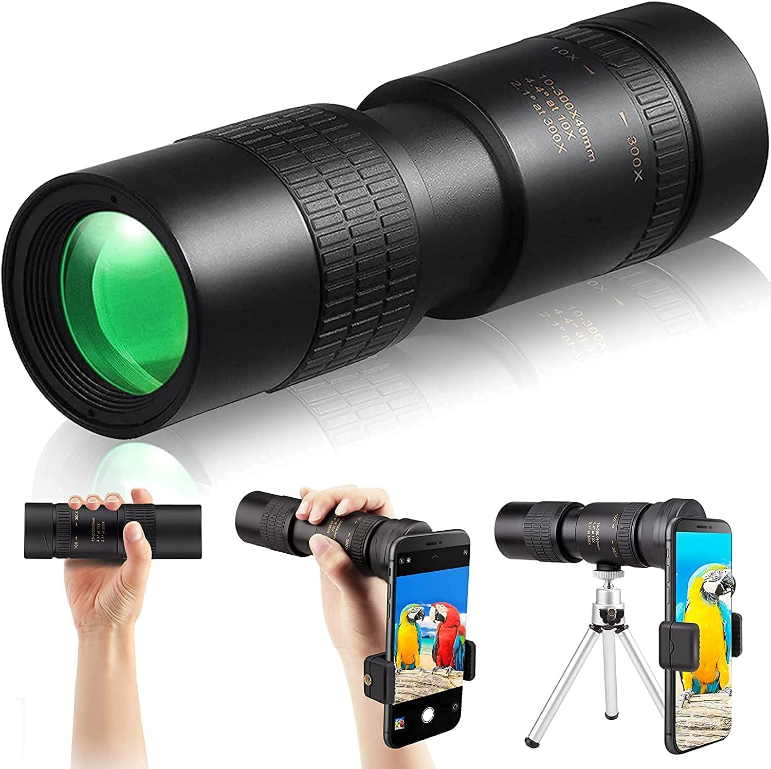 Necesa Monocular Telescope 10X300-40mm fo Outlet SALE Monoculars High Power Al sold out.
