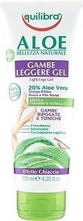 Equilibra Corpo, Aloe Gambe Leggere Gel, Gel Fresco a Base di Aloe Vera, Effetto Ghiaccio, Favorisce Circolazione Gambe in...