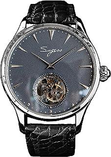 Sugess - SU8000ISBE Tourbillon Master Seagull ST8000 Movimiento Zafiro Cristal 1963 Reloj mecánico para hombre