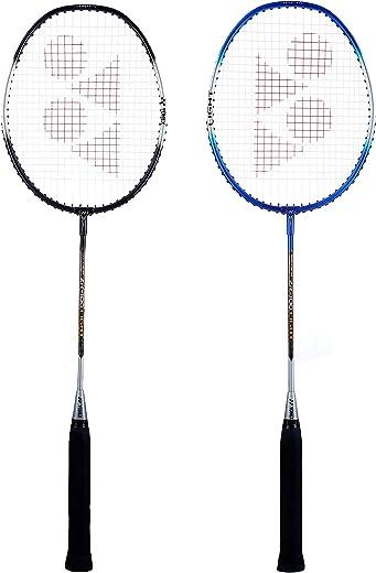 Yonex ZR 100 Light Aluminium Badminton Racquet with Full Cover, Set of 2 | Made in India