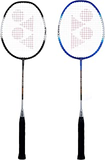 Yonex ZR 100 Light Aluminium Badminton Racquet with Full Cover, Set of 2 | Made in India