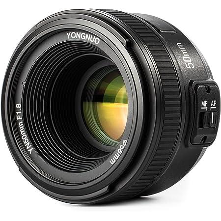 YONGNUO YN50mm F1.8 lente grande apertura automatica obiettivo compatto a fuoco per Nikon + WINGONEER Flash Diffusore