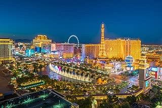 Las Vegas Strip Nevada Aerial View Photo Cool Huge Large Giant Poster Art 36x54