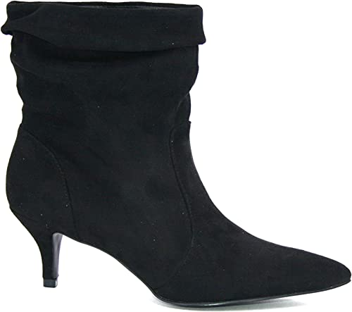 Cafeschwarz ME912 Stiefel damenes schwarz 40