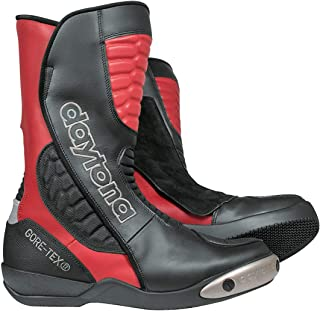 Daytona Strive GTX Gore-Tex waterdichte motorlaarzen 43 Black/Red