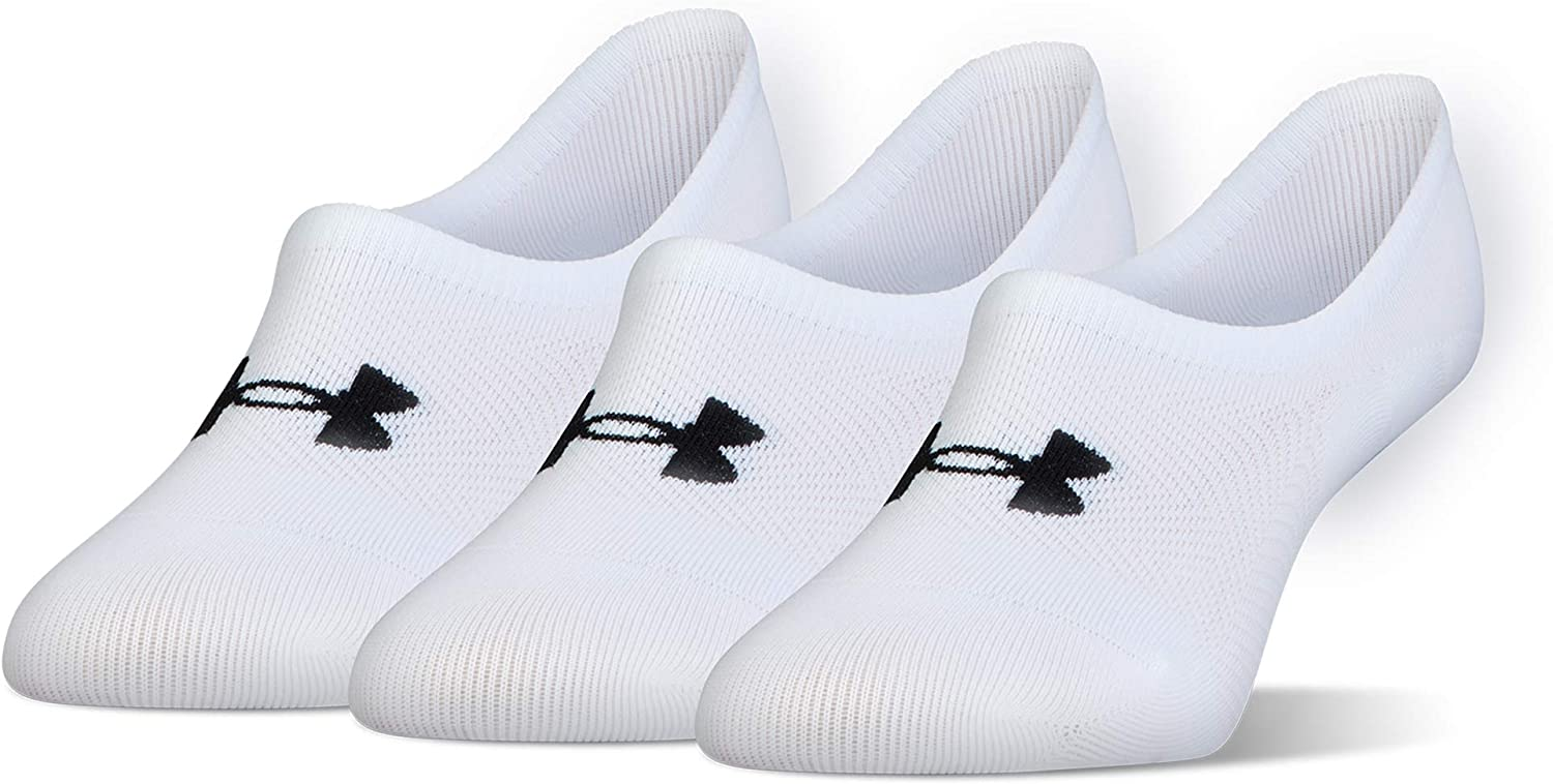 Under Armour Women's Breathe Lite Ultra Low Socks (3 and 6 Pack)