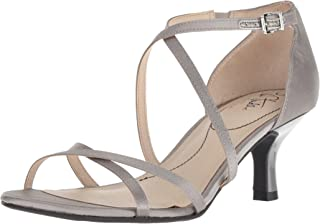 Women's Flaunt Heeled Sandal, Pewter, 9 M US