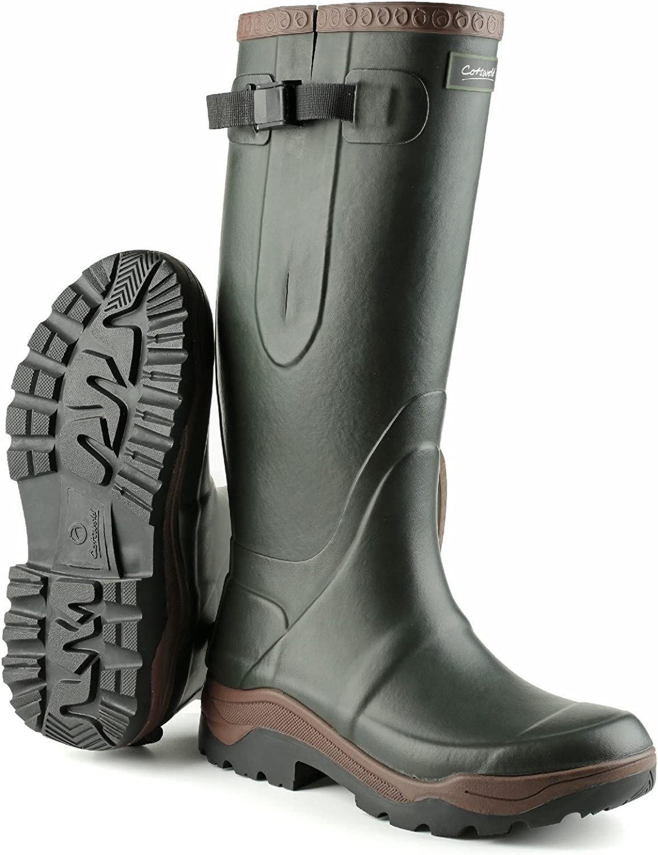 Cotswold Mens Compass Neoprene Wellington Boots