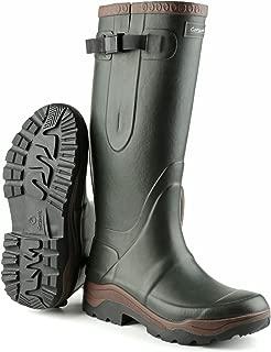 Mens Compass Neoprene Rain Boots