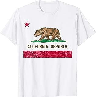 State of California flag t-shirt gift for men, women & kids