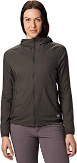 KOR Preshell Hoody Women's Lightweight Hooded Jacket Layer for Running, Hiking, Climbing, and Everyday