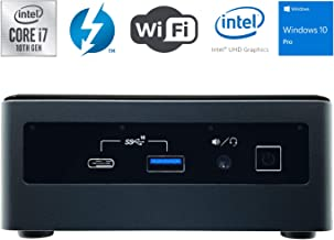 $859 » Intel NUC NUC10i7FNH Ultra Small Mini PC/HTPC - 10th Gen Intel 6-Core i7-10710U up to 4.70 GHz CPU, 16GB DDR4 RAM, 256GB SSD, Wi-Fi + Bluetooth, Intel UHD Graphics, Windows 10 Professional