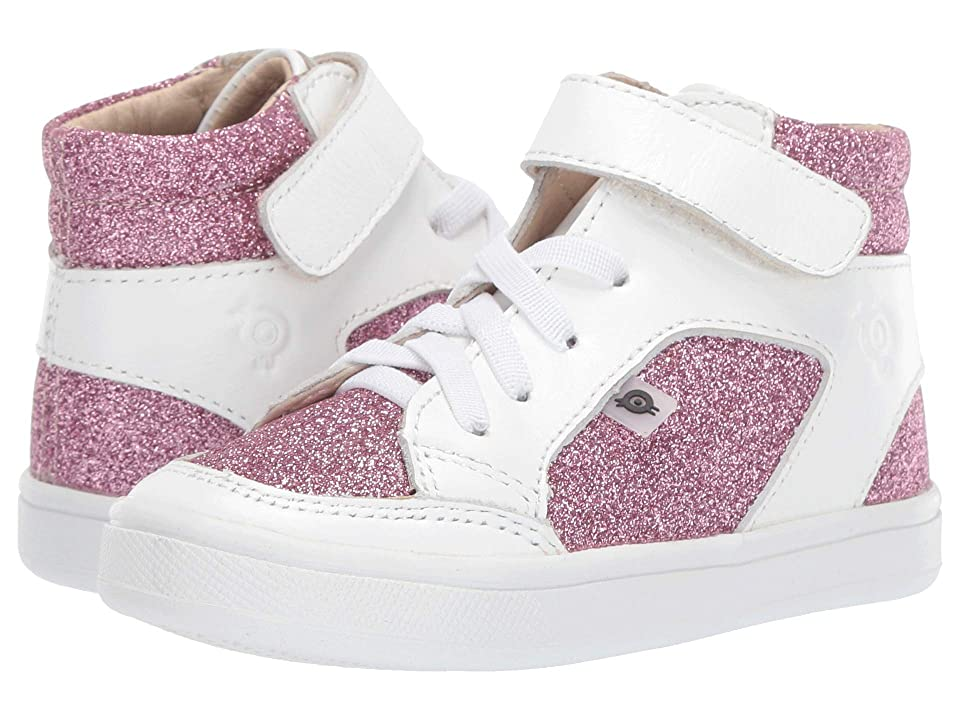 Old Soles Breezy (Toddler/Little Kid) (Glam Pink/Snow) Girl