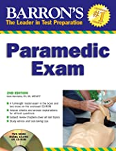 Barron's Paramedic Exam: with CD-ROM (Barron's: The Leader in Test Preparation)