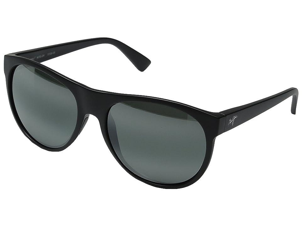Maui Jim Rising Sun (Matte Black) Fashion Sunglasses