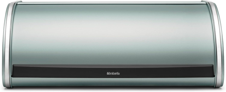 Brabantia Roll Top Bread Box, Metallic Mint Color - Large
