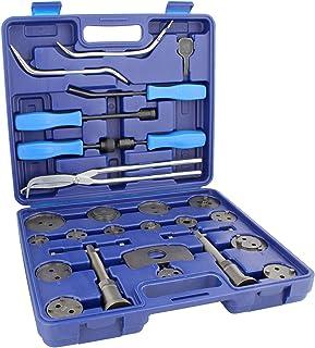 ABN Brake Tool Sets w/ 18 Pc Disc Brake Caliper Tool Kit & 8 Pc Drum Brake Tool Kit – Removal and Installation Tools