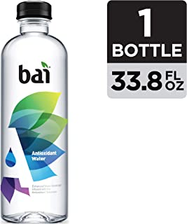 Bai Antioxidant Water, Infused with the Antioxidant Mineral Selenium, 33.8 Fluid Ounce Bottle