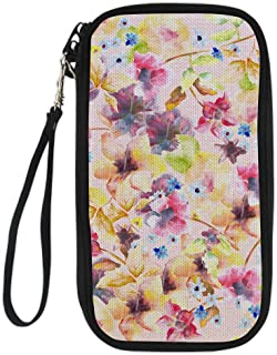 CHAQLIN Planet Detachable Shoulder Straps Passport Cover for Women ID Card Holder